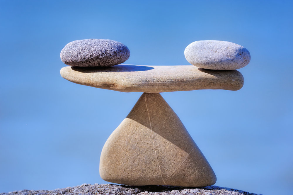 FIND YOUR BALANCE AND CENTER