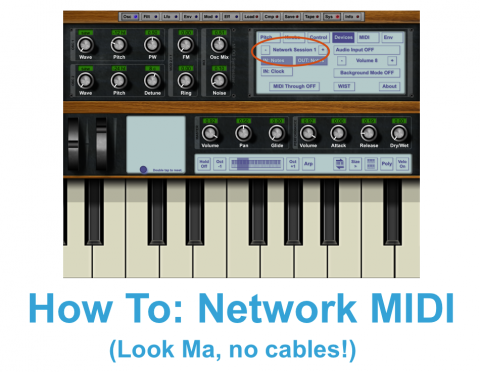 network midi header