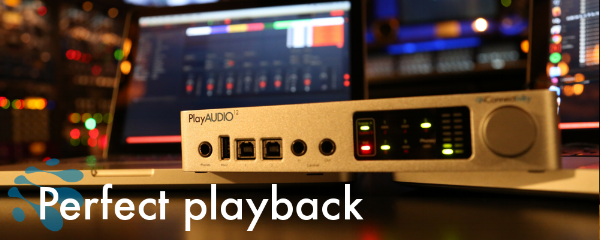 The interface you've been waiting for - the iConnectivity PlayAUDIO12