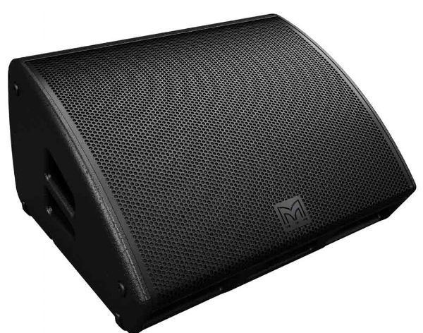 A typical stage wedge monitor speakers (image courtesy Martin Audio)