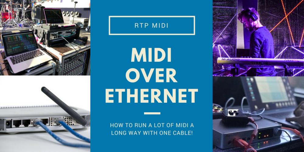 MIDI over Ethernet - Marvellous RTP-MIDI — iConnectivity