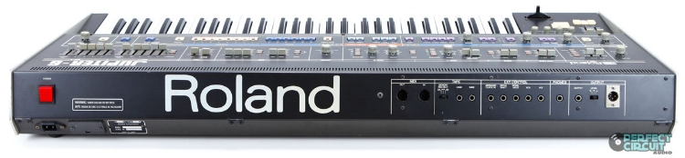 One of the very first MIDI equipped keyboards - the Roland Jupiter 6