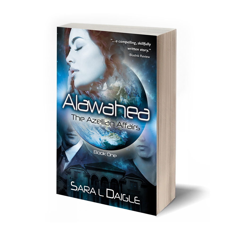 ALAWAHEA: THE AZELLIAN AFFAIRS, BOOK ONE - Tamara Carrington always felt different. One event in high school left her wondering if maybe she really was a freak, although she'd managed to leave that experience in the past—buried deep within her psyche. With the arrival of exchange students from the planet of Azelle to her college, Tamara's long-buried memories threaten to erupt. As Tamara's emotions build and her friendship with the Azellians grows, so does the knowledge of secrets within her own family. With the deterioration of her mother's health, Tamara doesn't know where to turn for answers or solace. What has her family been hiding? Why does she feel inexplicably drawn to the Azellians? What will happen if she unleashes her long-suppressed passion? Will she survive or even recognize herself afterwards? Wanting answers, yet being afraid of what she might find, Tamara wonders if it would be better to remain asleep.Read an excerpt >BUY THE BOOK: Available at Tattered Cover, Amazon, Barnes and Noble and iBooks
