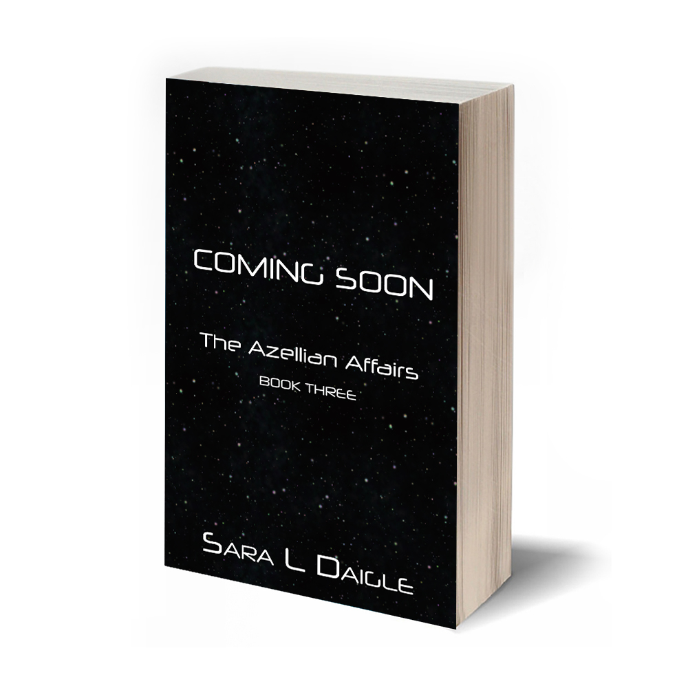 Book three is in development - Stay tuned to my blog or sign up for my newsletter below to get updates for the continuing stories of the Azellian Affairs as they welcome new experiences into their lives and continue their journeys into themselves.RELEASE DATE TBD