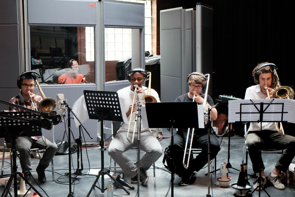 Kalun, Modibo, Alex & Olivier- killer, killer trombone section