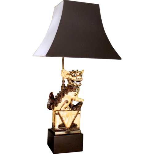 shop matt shade oak lamp on dog pugh crowdyhouse white