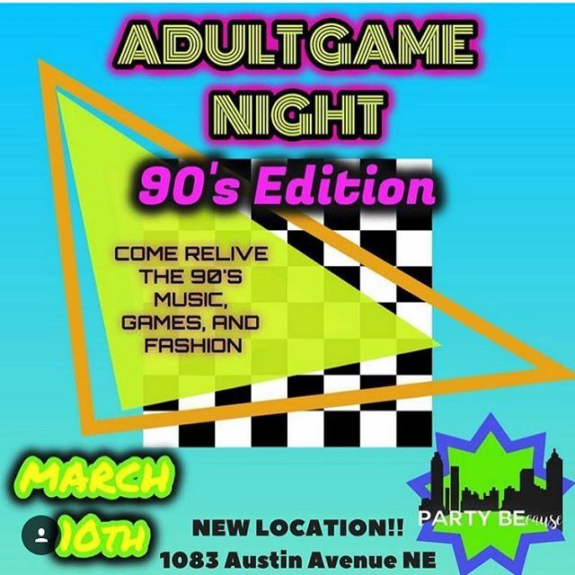 SATURDAY MARCH 10‼️ Limited tickets left. We know you been dying to pull out your old 90s gear! Come show out on March 10th at our very own 90s party and 90s Game Night! It will be DA BOMB. 🔥 FOR TICKETS, LINK IN BIO. Proceeds go towards more dope events, whether we're helping the community or just because. 💙  #90sParty #EventsATL #90sBaby #POTD #Entrepreneur #GirlBoss #Growth #PartyPlanner #NightLife #saturday #Thingstodo #DressUp #Support #ComeSupport #Millennials #DoStuff #Atlanta