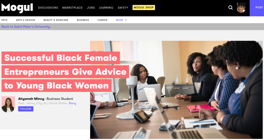 LaToya Shares Biz Advice on Mogul - Click to read advice from LaToya and other female entrepreneurs on starting a business.