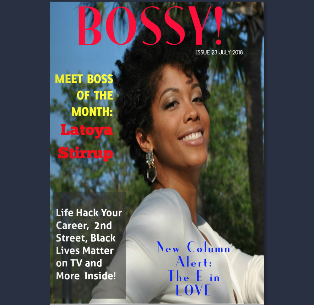 Boss of the Month - Our co-founder, LaToya, graces the cover of BOSSY! Magazine. Read the article to get insight on the start of KAZMALEJE, perks and challenges of running a family business, being a mompreneur, and how to innovate in your market.