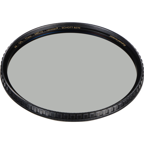 Breakthrough Photography Brass Circular Polarizer Filter - 2x Filter Factor and 1-Stop. This filter saturates skies and reduces reflections and haze.