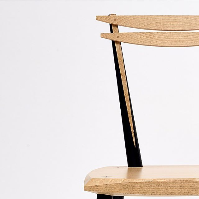 Beech Dining Chairs by Sam. // Thinking Through Making: 80 Years of Design and Craft at Rycotewood // Exhibition private view is tomorrow evening in #oxford (see previous post for more details).