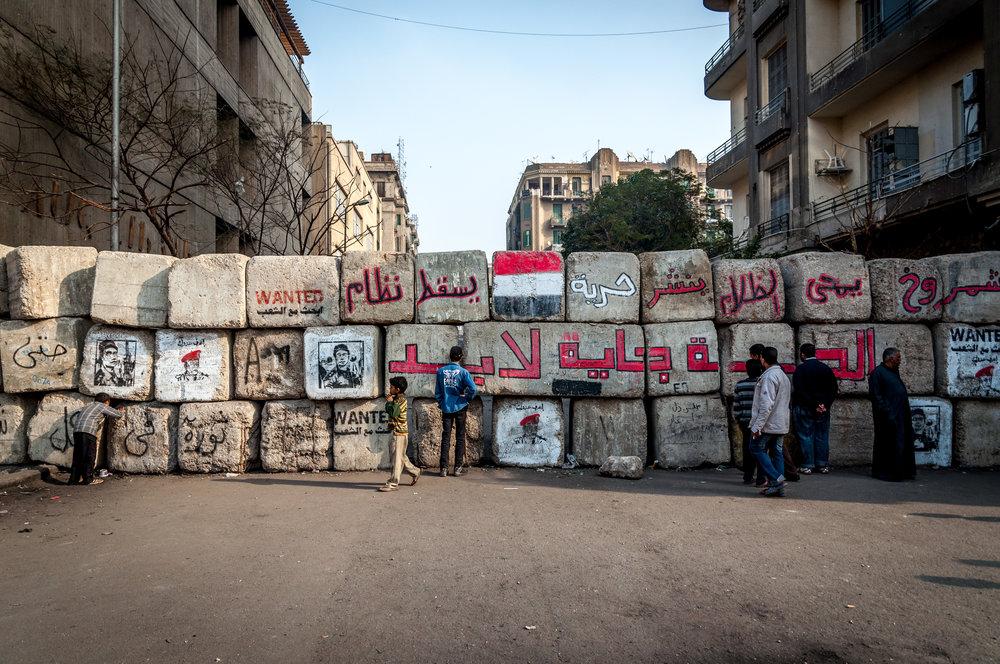 Cairo walls, December 2011