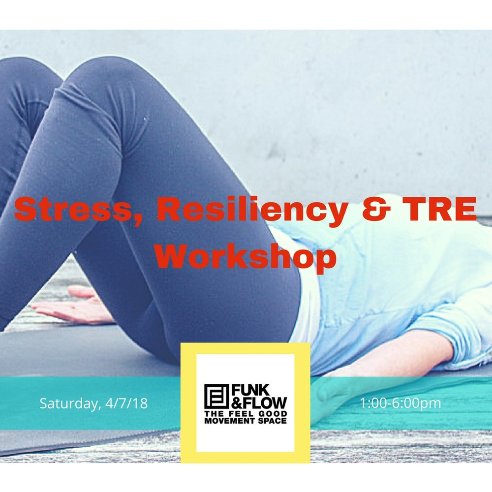 Reported TRE® Benefits: Release of chronic tension & emotional or physical trauma Relief from bodily aches including: back, shoulder & neck pain, & headaches Improved sleep Better overall mood Greater mobility Less anxiety & depression  Instructor: Rachel Keener Co-Founder, Trauma Recovery Alliance, Certified Global TRE® Provider, and RMT  Note: No yoga experience required. Not advised for pregnant women.