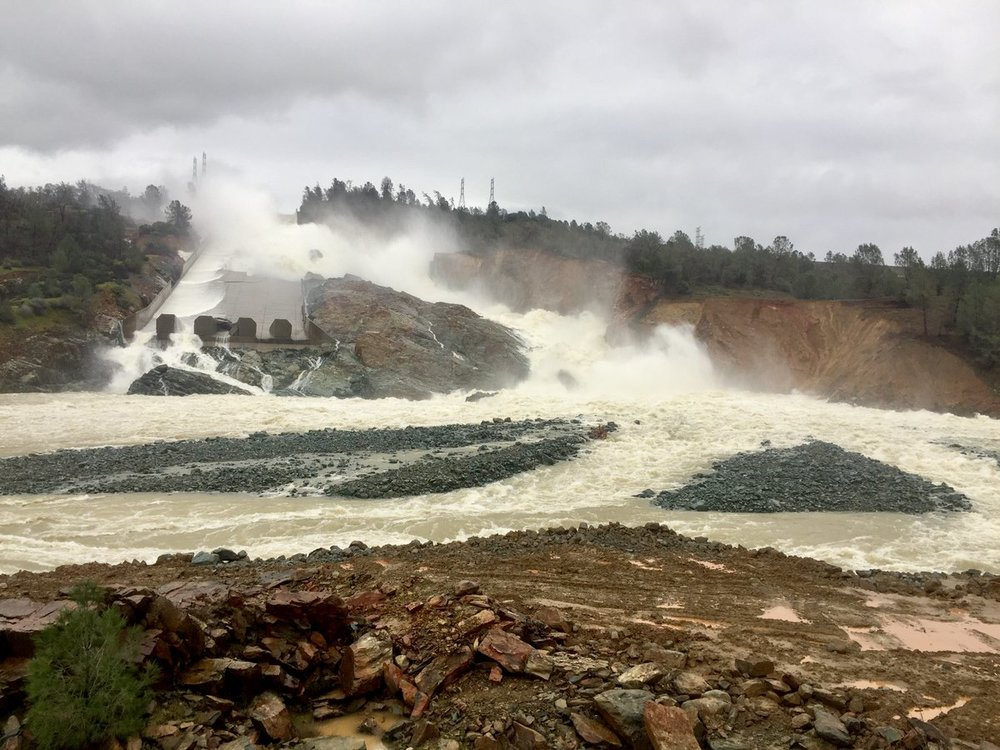Oroville Dam - Red for the Blue Newsletter