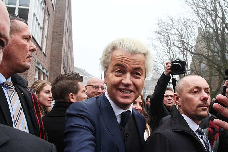 Geert Wilders Red for the Blue