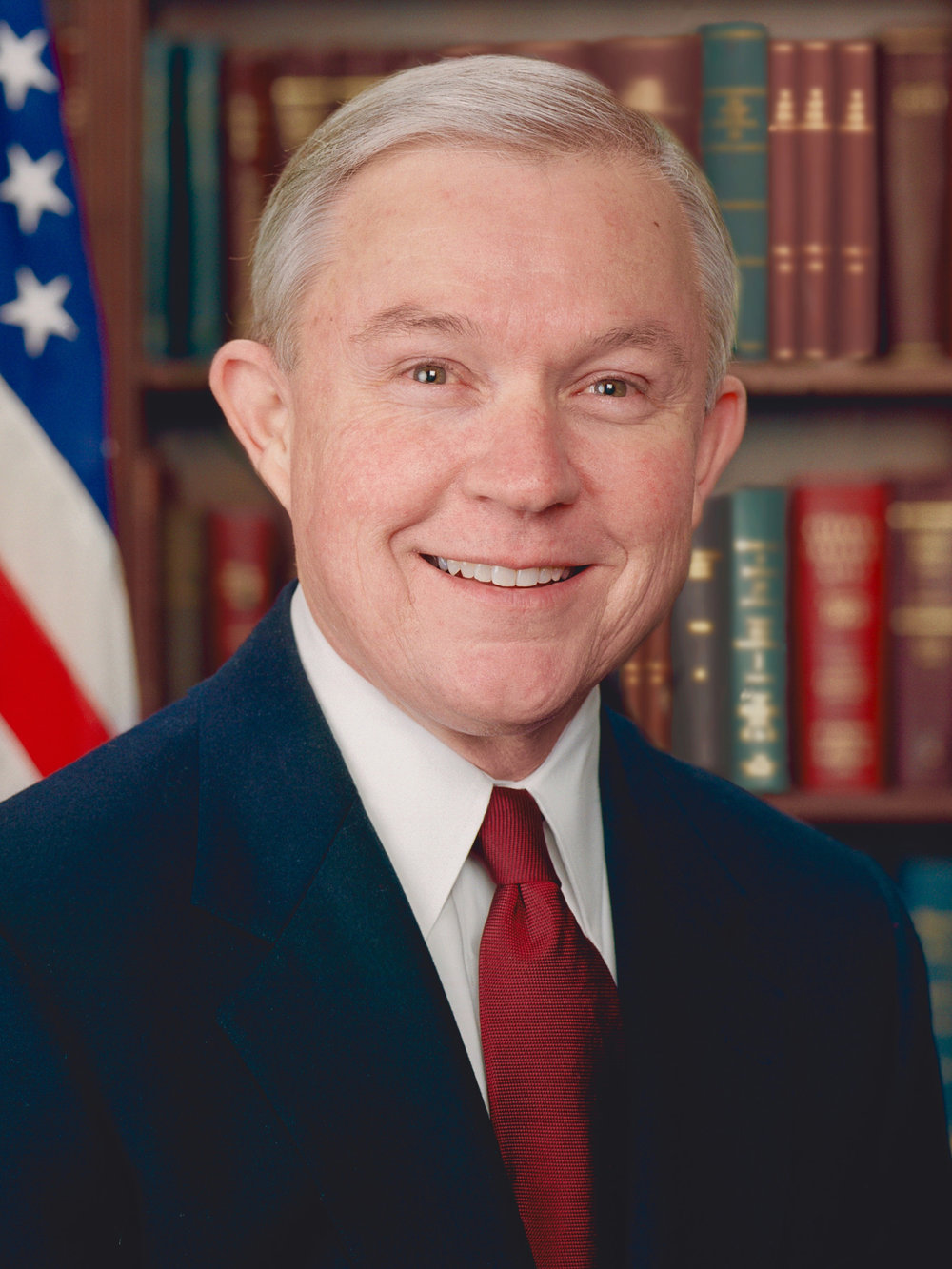 jeff sessions red for the blue