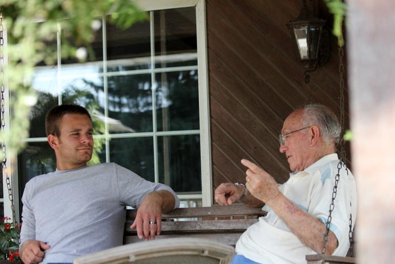 Back porch swing wisdom.