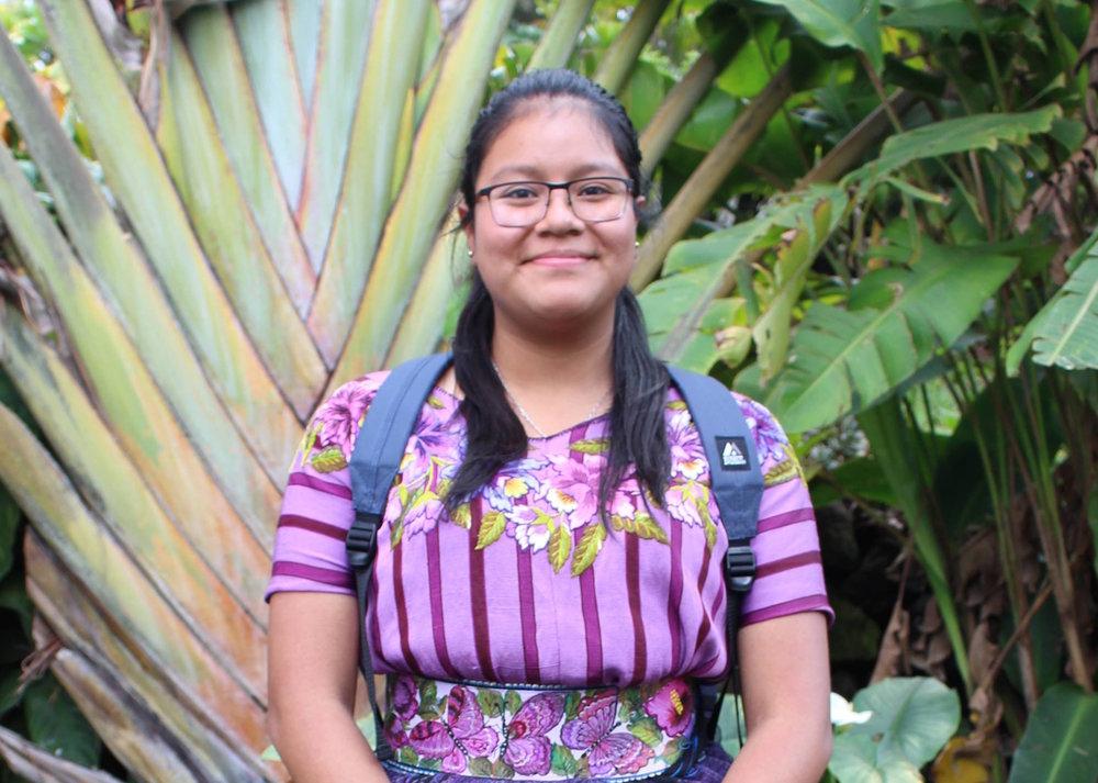 Scholarship Student Skarleth