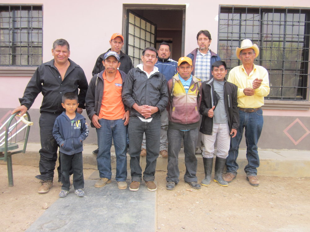 Coffee farmers from Comayagua.