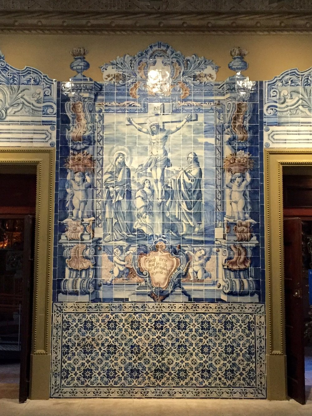 religious panel, national tile museum
