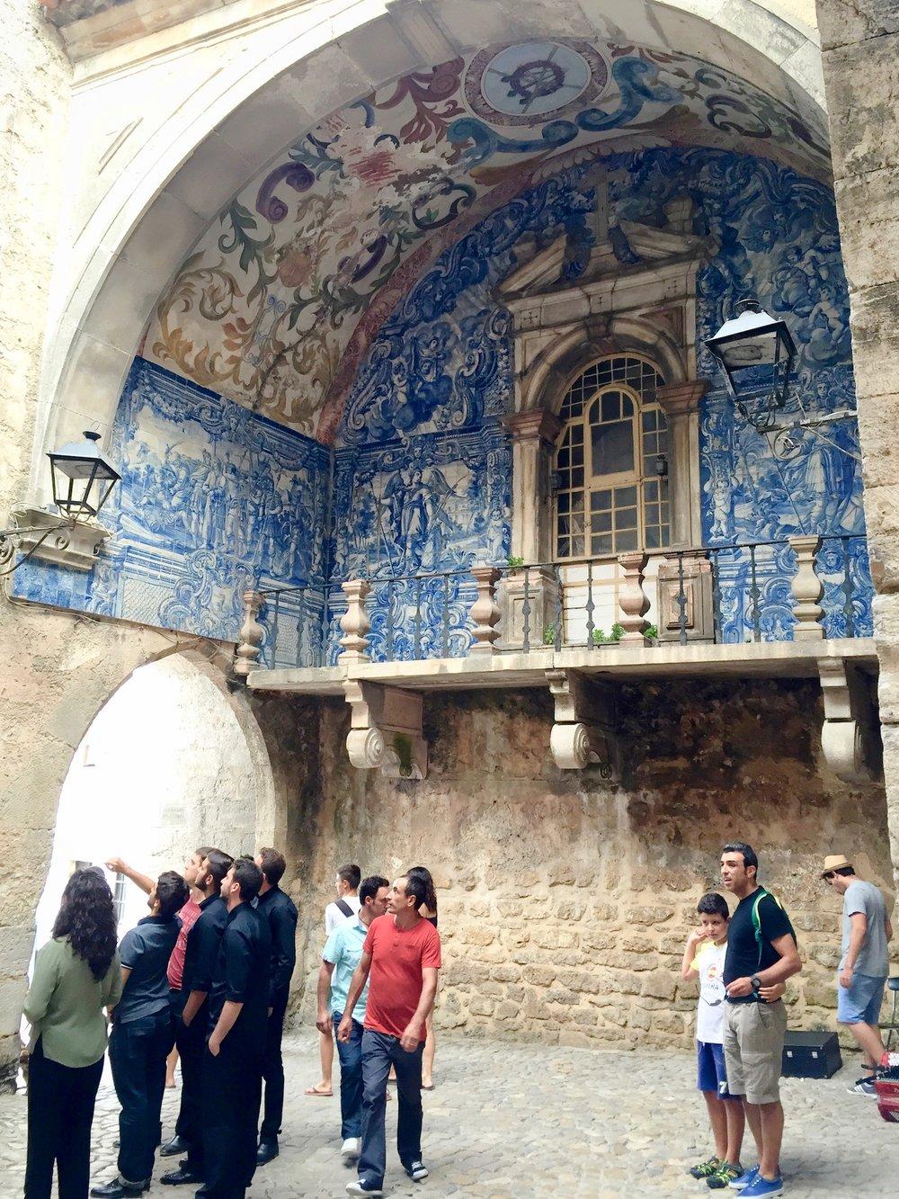 obidos city gate