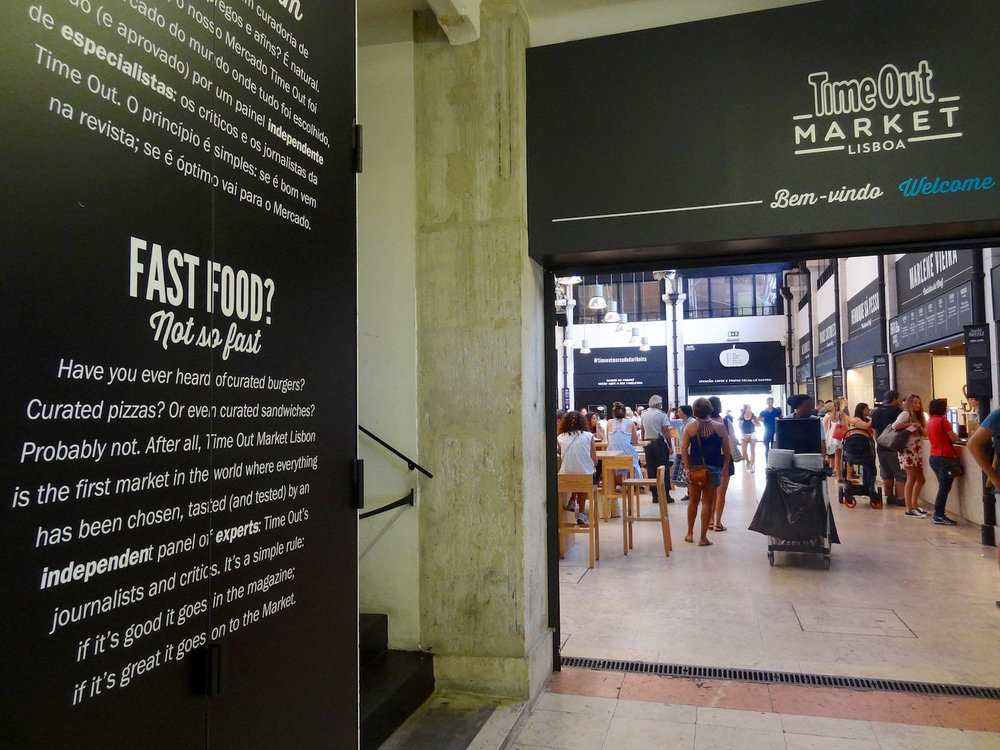great food hall in lisbon