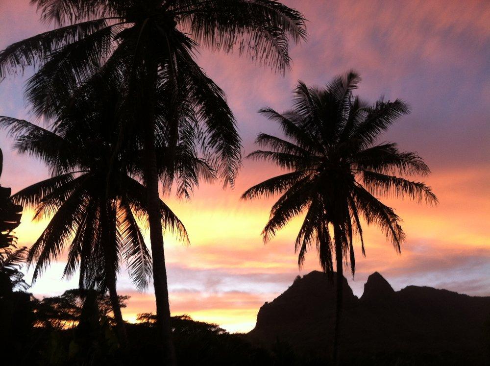 Kalalea Mountain Sunset