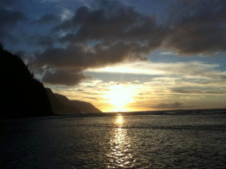 Ke'e Beach Napali Coast