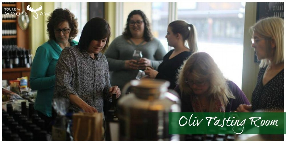 OLiV Tasting Room  At Oliv, the staff will take you through a one of a kind balsamic vinegar and olive oil tasting. You will learn about their products all while enjoy a couple light snacks. The staff here do a fantastic job and their products are amazing.