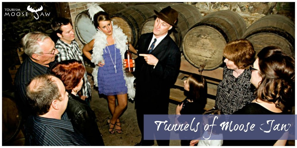 "Tunnels of Moose Jaw  ""History Goes Underground"" This must see tourist attraction is a mixture of laughs and history. Each of the tours is just under an hour."
