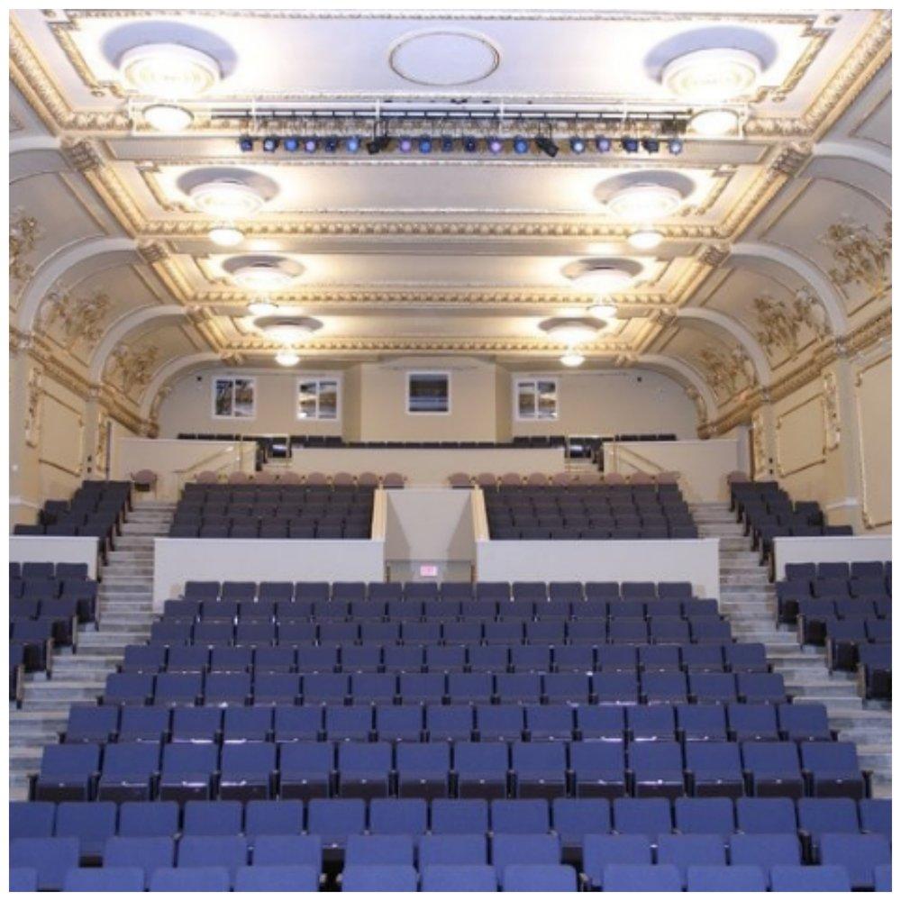 The 420 seat theatre.