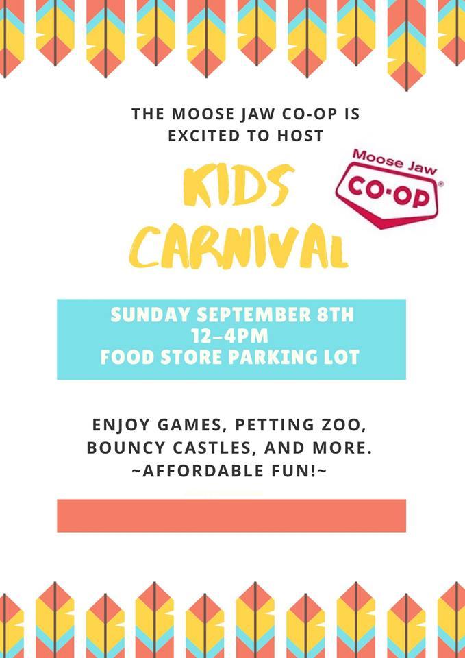 Moose Jaw Co-Op Kids Carnival — Tourism Moose Jaw