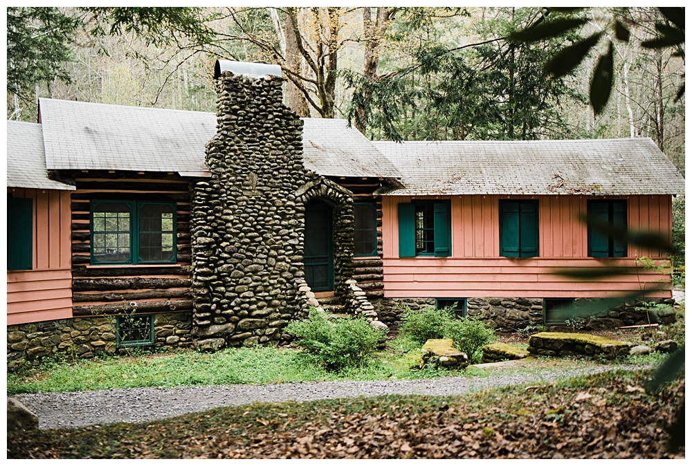 Spence Cabin Elopement Great Smoky Mountains National Park