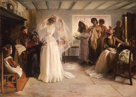 """The Wedding Morning"" - John Bacon"