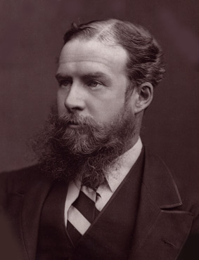 Lord Avebury (John Lubbock, 1st Baron Avebury) and his excellent beard.