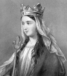 Matilda of Flanders. Legit Badass who defied her husband to provide financial support to her firstborn, not once, but twice!