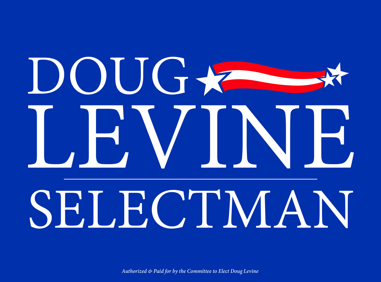 Doug Levine for Wayland Board of Selectmen