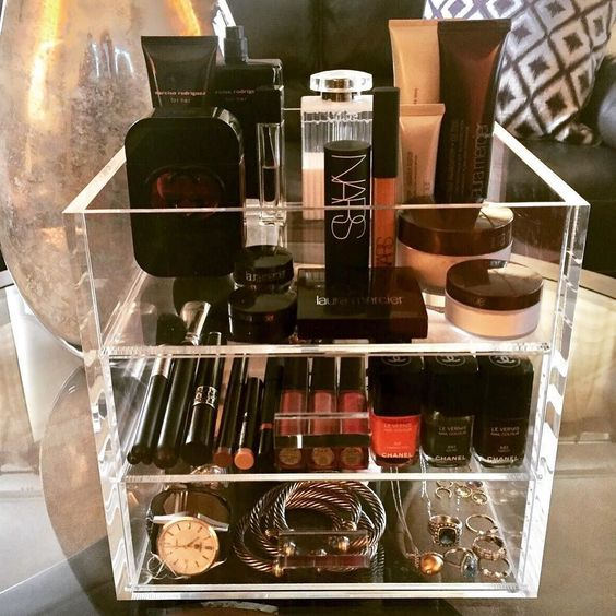 A Good Acrylic Makeup Organizer - u0026nbsp;Even if you have storage in & The Legacy Dream Luxury Companyu2014Our Makeup Organization Blog