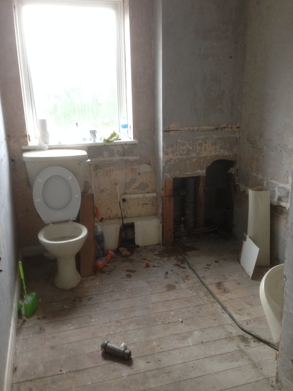 we saved the loo for last...