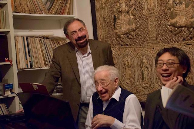 Dr Boris Berman, Dr Melvin Chen &MaestroPeterFrankl