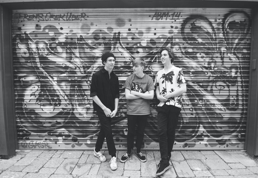 "BBQ Pope are (from left to right): Sean Hackl (Guitar & Vocals), Reid Millar (Bass & Vocals) & Duncan Briggs (Drums).      The band was formed in August of 2015 after childhood friends and bandmates Reid Millar and Sean Hackl decided to re-form their old band with the new name BBQ POPE. Sean and Duncan met in high school at Rosedale Heights School of the Arts, where they discovered their musical chemistry through the band program.        Since forming BBQ Pope, the band has grown immensely.   They have toured, released an album, received Radio Play, opened for Major Acts, and have played many of Toronto's most famous venues such as: The Silver Dollar Room, The Smiling Buddha, Rivoli, The Baby G, Bovine Sex Club, D-Beatstro & more.       The bands first release was their debut EP titled, ""Squid Vicious"" (2016). The EP was recorded live off the floor and intended to be a demo recording. This gained the band a small but dedicated local following and helped channel their songwriting skills in preparation for their debut Album!         In July 2017, after running a successful indie go-go campaign and working hard in the studio for two months, BBQ Pope released a much anticipated self-titled Debut Album. This was followed by a week long tour across Ontario and Quebec, with a sold-out hometown show in Toronto!       Over the next year, BBQ Pope became a powerful force in the Toronto music scene. Playing with many of Toronto's top Garage Rock and punk bands at numerous clubs. Being 18/19 year olds, BBQ Pope are one of the youngest bands on the club circuit right now!       On March 3rd, 2018. BBQ Pope released, ""Winters of My Youth"" (Single) with B-Side, ""Before and After"". A step forward for the bands critical and conscious songwriting efforts.      ""These two singles are a promising start to the future work of BBQ Pope. The culmination of heavy punk sounds and moments of tranquility are an admirable approach to the songwriting process."" - Pure Nowhere Magazine      The Band is constantly writing new material and is currently planning out touring for 2018, they will be playing Canadian Music Week 2018, and have applied for other festivals throughout Canada!     ""BBQ POPE: IT'S FAT, IT'S PUNK, IT'S GOOD!"" - Still In Rock (Brooklyn based webzine)"