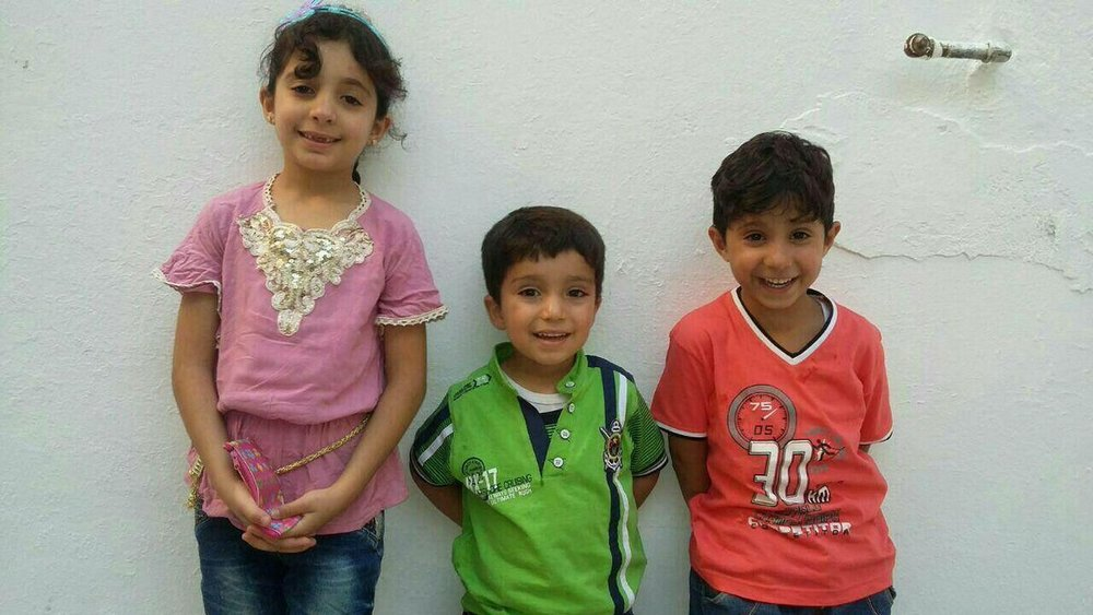 Three children killed by airstrikes, November 17th, 2016. All were under the age of 10.