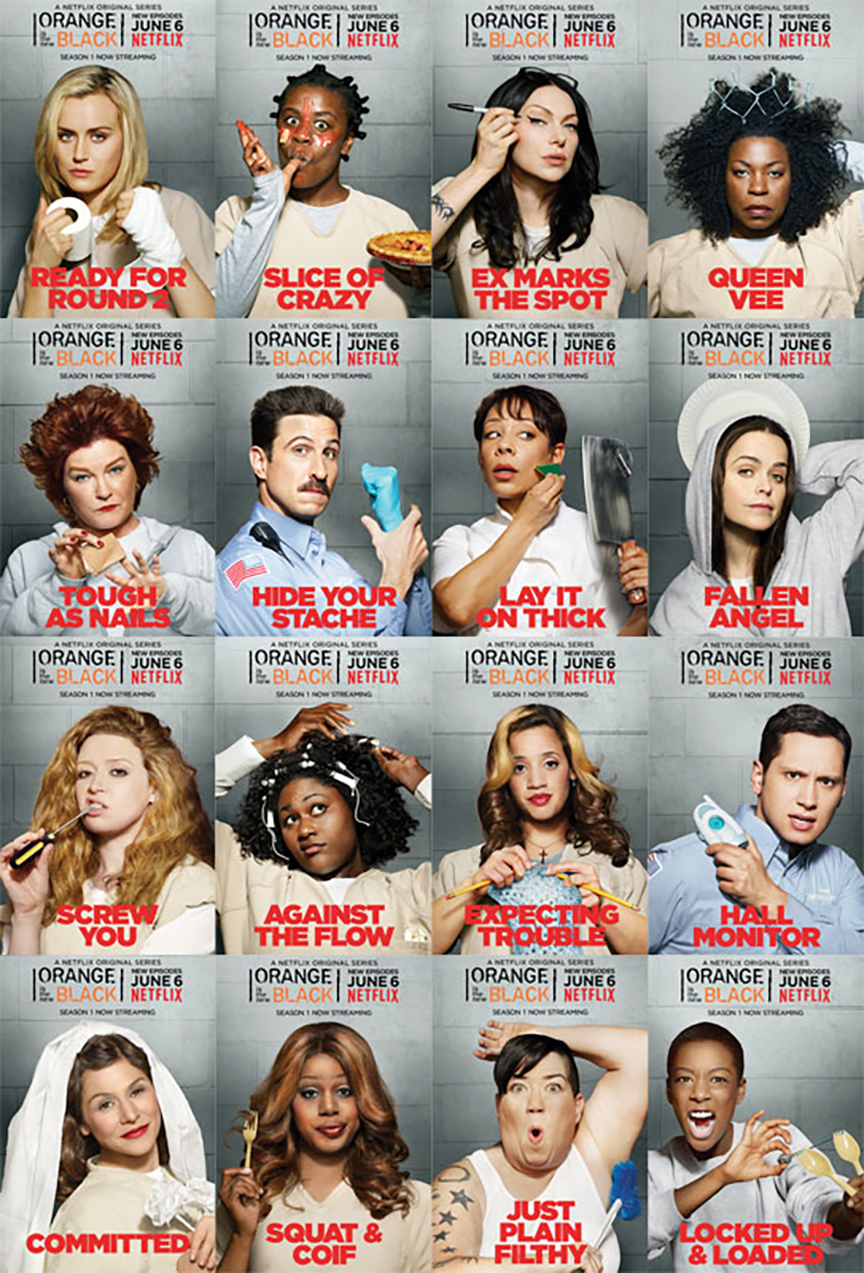 Orange Is The New Black Banners - Netflix