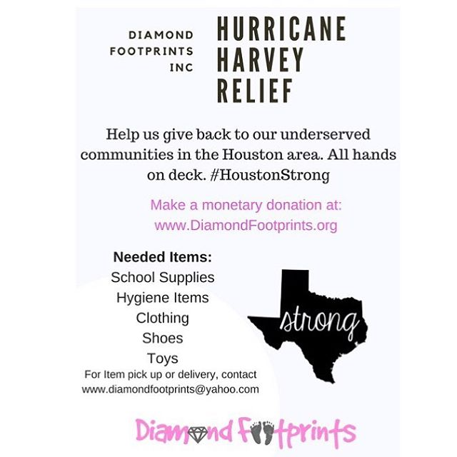 Help us help Houston! #HurricaneHarvey Donate here: bit.ly/DFhelps