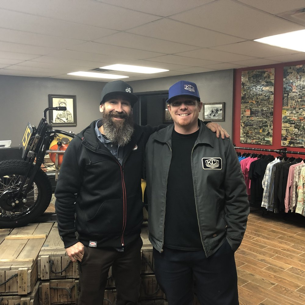 Aaron Kaufman and KC Mathieu — All Rights Reserved — Goombahs Car Club 2019