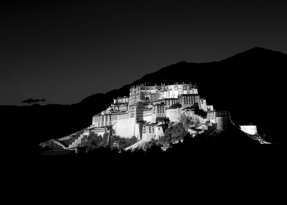 Lhasa at Night