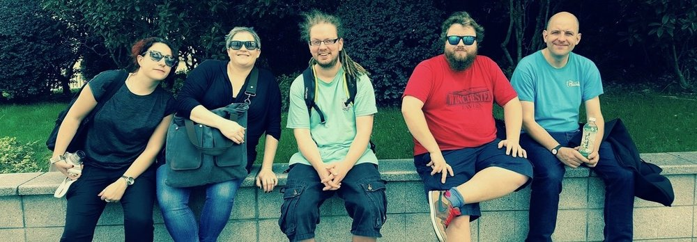 Vanishing Point Team,Tomorrow China 2016 - Kara Jackson, Andy Gannon, Fergus Lockie (Goose) & Lee Davis