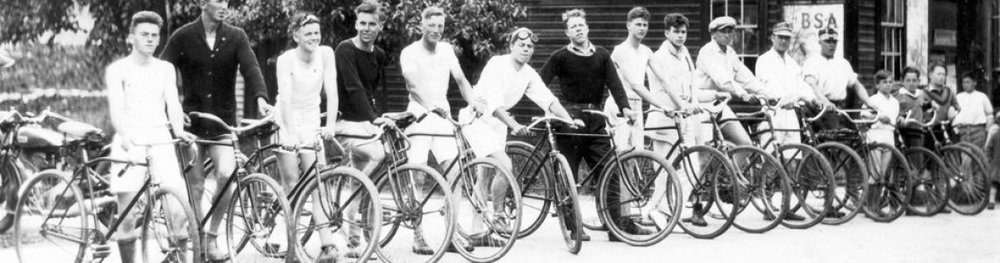 The Epic Vernon to Kelowna Bicycle Race - 1930   Lake Country Museum