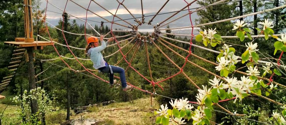 Myra Canyon Adventure Park   Included in this experience