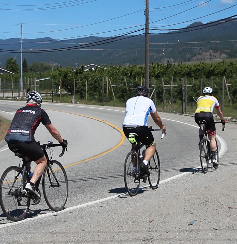 Cycling in Naramata